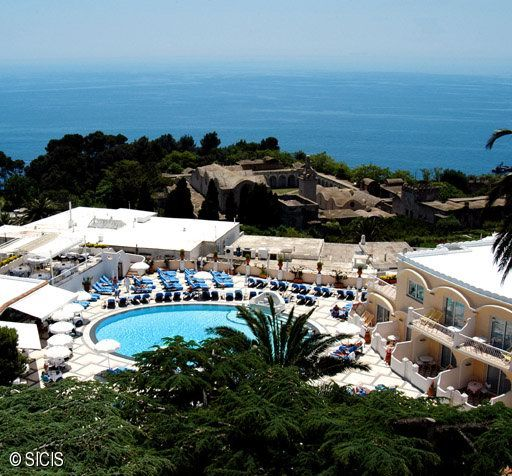 Italia - Quisisana Hotel - Capri Island SICIS - Poza 1