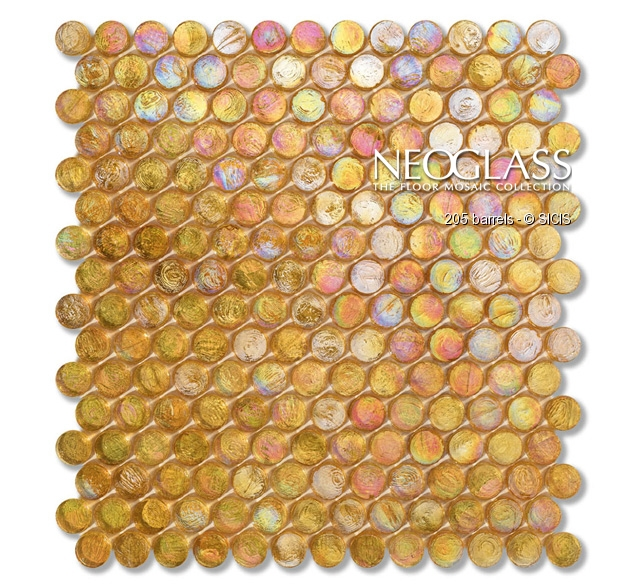 Mozaic din sticla - Barrels SICIS - Poza 2