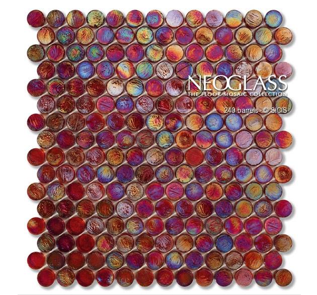 Mozaic din sticla - Barrels SICIS - Poza 7