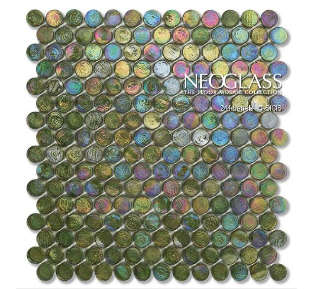 Mozaic din sticla - Barrels SICIS - Poza 9