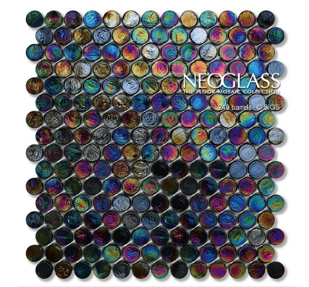 Mozaic din sticla - Barrels SICIS - Poza 11