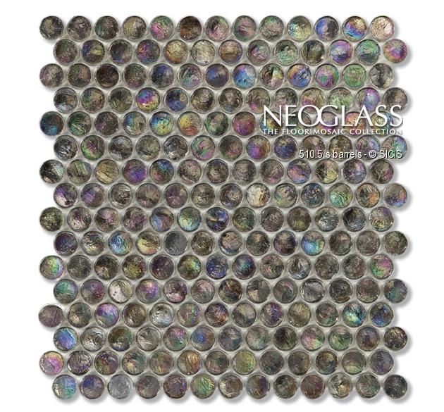 Mozaic din sticla - Barrels SICIS - Poza 14