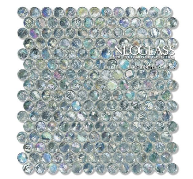 Mozaic din sticla - Barrels SICIS - Poza 15