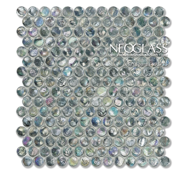 Mozaic din sticla - Barrels SICIS - Poza 16