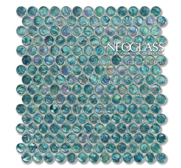 Mozaic din sticla - Barrels SICIS - Poza 18