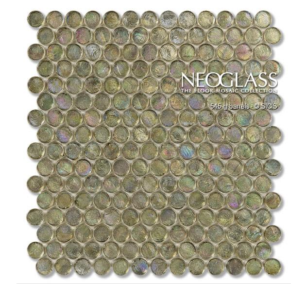 Mozaic din sticla - Barrels SICIS - Poza 19