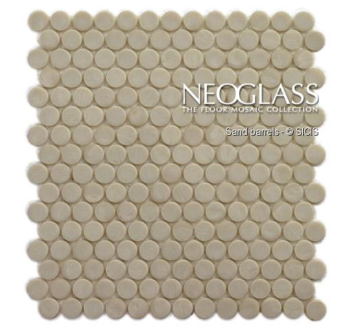 Mozaic din sticla - Barrels SICIS - Poza 48