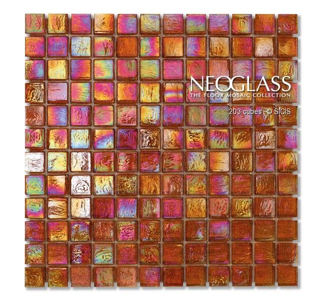 Mozaic din sticla - Cubes SICIS - Poza 1