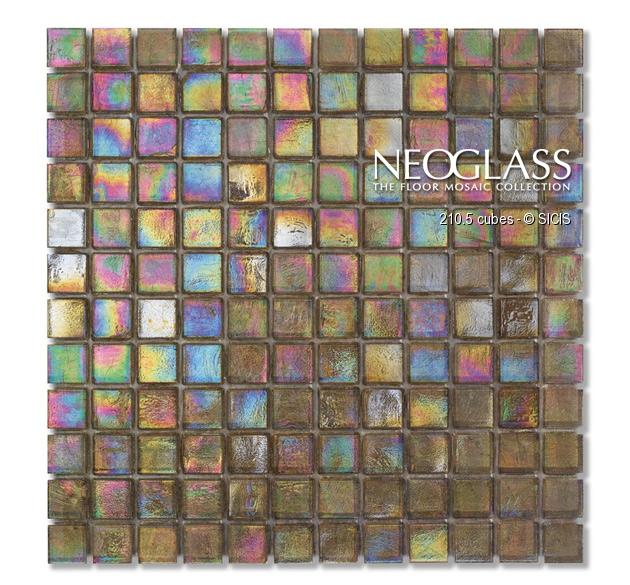 Mozaic din sticla - Cubes SICIS - Poza 3