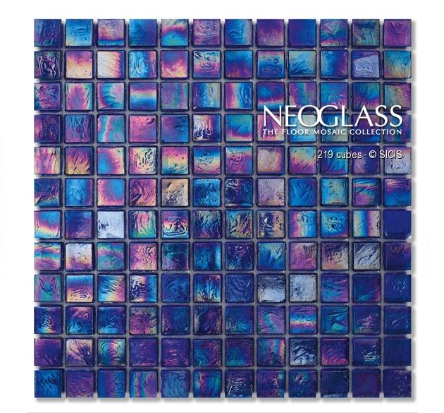 Mozaic din sticla - Cubes SICIS - Poza 4