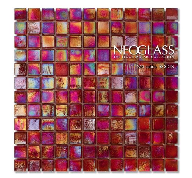 Mozaic din sticla - Cubes SICIS - Poza 7