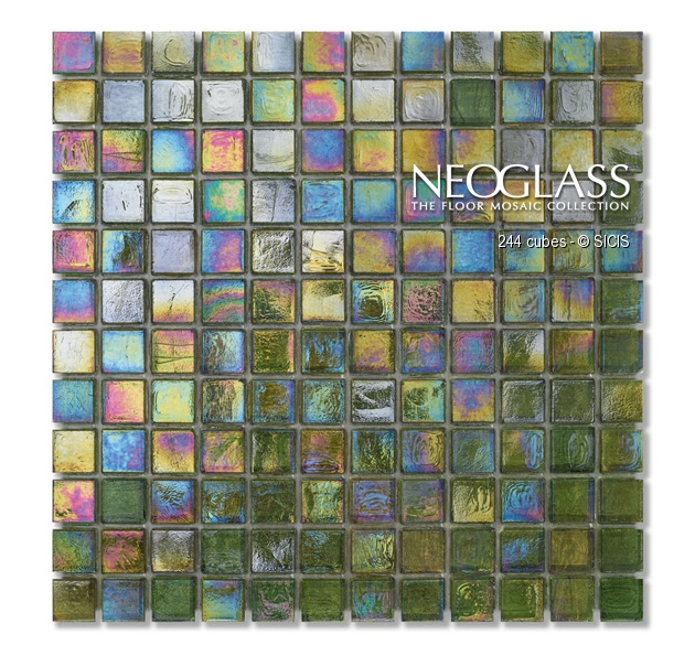 Mozaic din sticla - Cubes SICIS - Poza 9