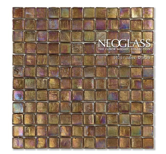 Mozaic din sticla - Cubes SICIS - Poza 13