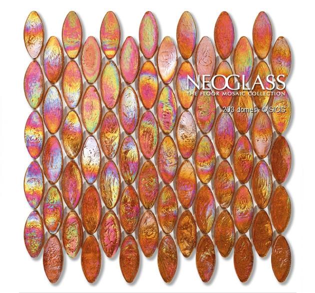 Mozaic din sticla - Domes SICIS - Poza 1