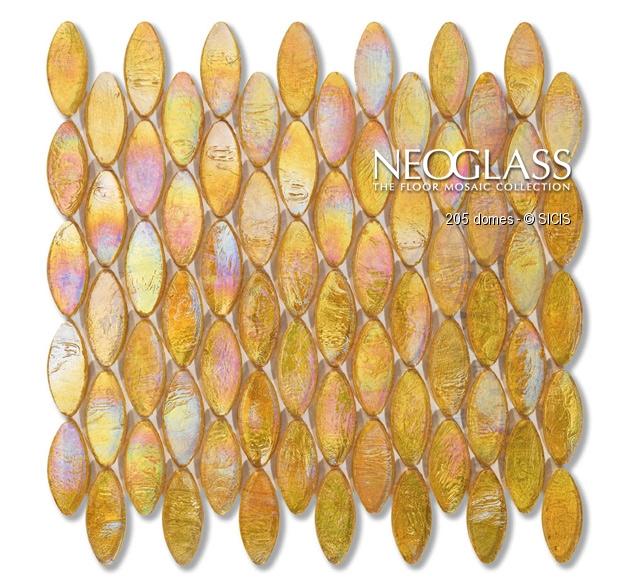 Mozaic din sticla - Domes SICIS - Poza 2