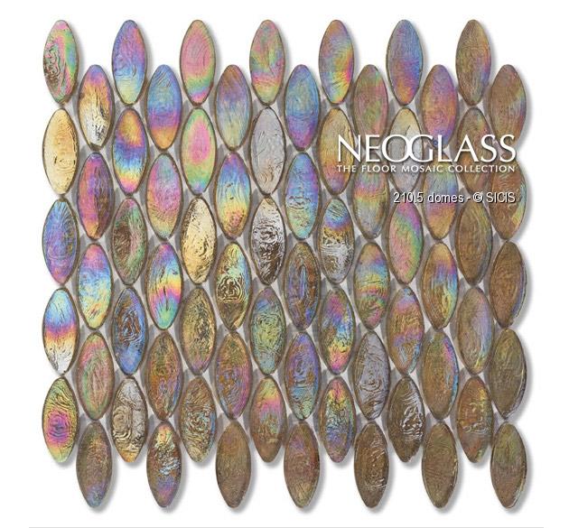 Mozaic din sticla - Domes SICIS - Poza 3