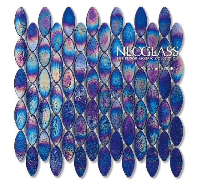 Mozaic din sticla - Domes SICIS - Poza 4