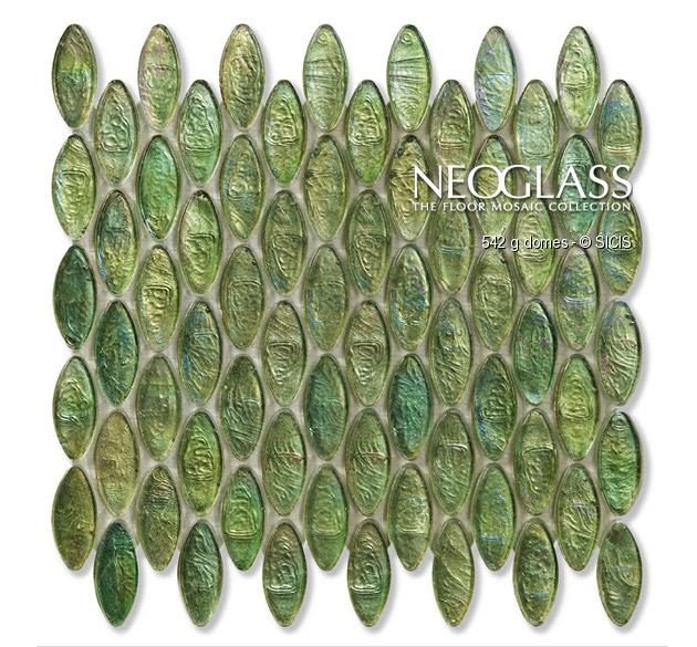 Mozaic din sticla - Domes SICIS - Poza 17