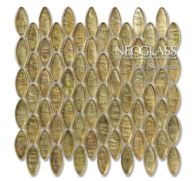 Mozaic din sticla - Domes SICIS - Poza 32