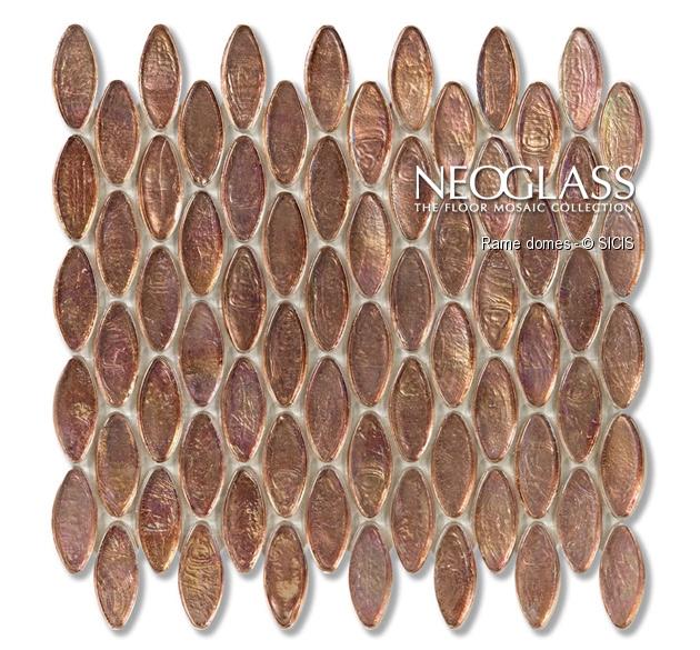 Mozaic din sticla - Domes SICIS - Poza 34
