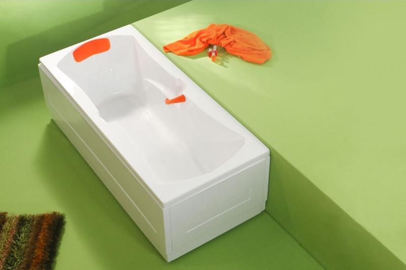 Optima - cada de baie dreapta din acril antibacterian FIBREX - Poza 15
