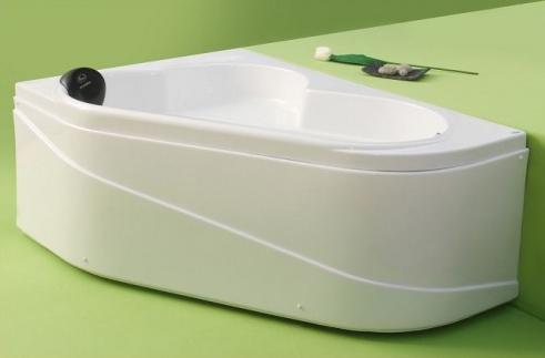 Ella - cada de baie pe colt din acril antibacterian ll  FIBREX - Poza 5