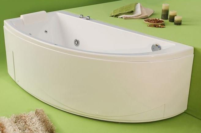 Neo - cada de baie pe colt din acril antibacterian ll FIBREX - Poza 9