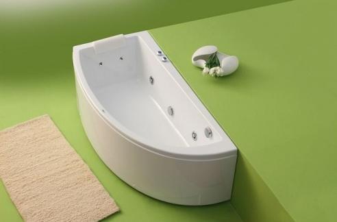 Neo - cada de baie pe colt din acril antibacterian FIBREX - Poza 10