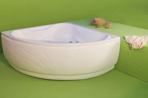 Venus - cada de baie pe colt din acril antibacterian ll FIBREX - Poza 13