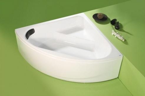Isis - cada de baie pe colt din acril antibacterian FIBREX - Poza 15