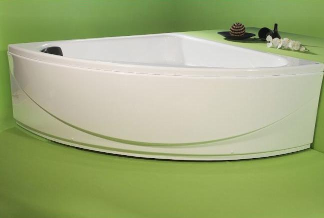 Isis - cada de baie pe colt din acril antibacterian ll FIBREX - Poza 16