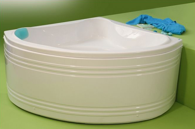 Nory - cada de baie pe colt din acril antibacterian ll FIBREX - Poza 19