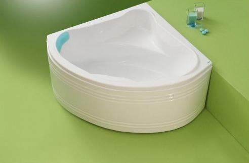 Nory - cada de baie pe colt din acril antibacterian FIBREX - Poza 20