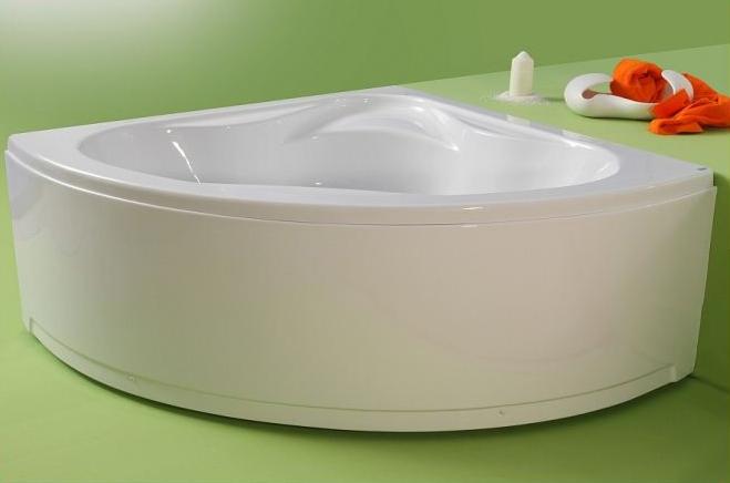 Valencia - cada de baie pe colt din acril antibacterian ll FIBREX - Poza 23