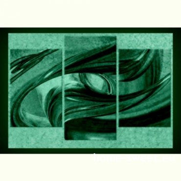Tablouri set dual view - abstract geometrie  Home sweet - Poza 2