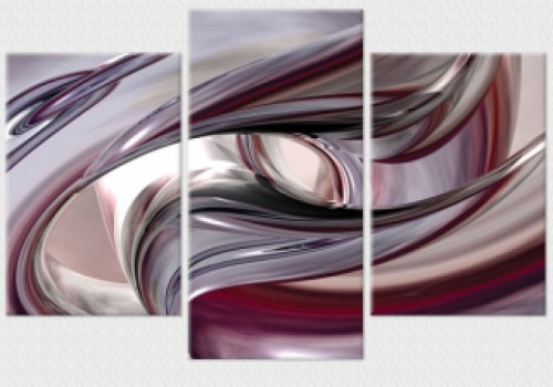Tablouri set dual view - abstract geometrie  Home sweet - Poza 1