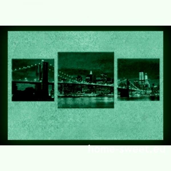 Tablouri set dual view orase - New York  Home sweet - Poza 2