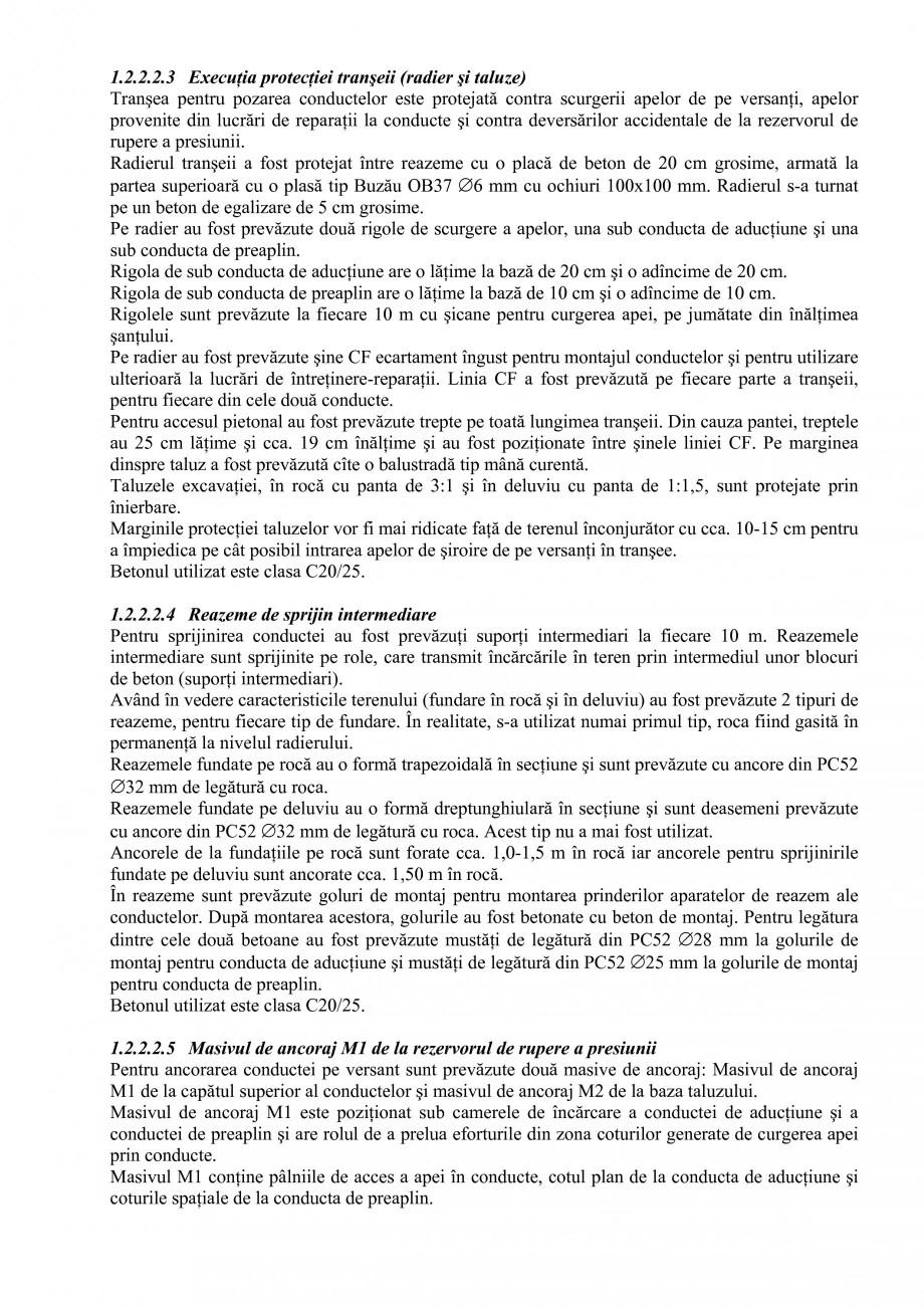 Pagina 11 - Proiect Hidrotehnic Complex - Prezentare ISPA Tarnita PIF 2009  Lucrari, proiecte Romana...