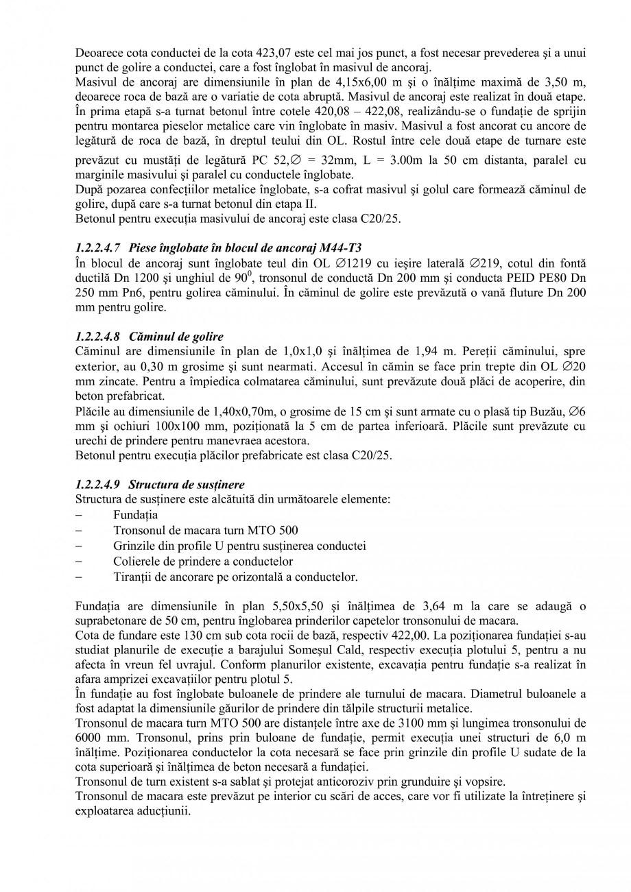 Pagina 18 - Proiect Hidrotehnic Complex - Prezentare ISPA Tarnita PIF 2009  Lucrari, proiecte Romana...