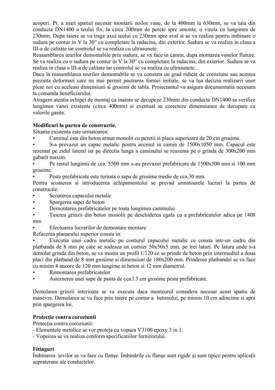 Pagina 20 - Proiect Hidrotehnic Complex - Prezentare ISPA Tarnita PIF 2009  Lucrari, proiecte Romana...