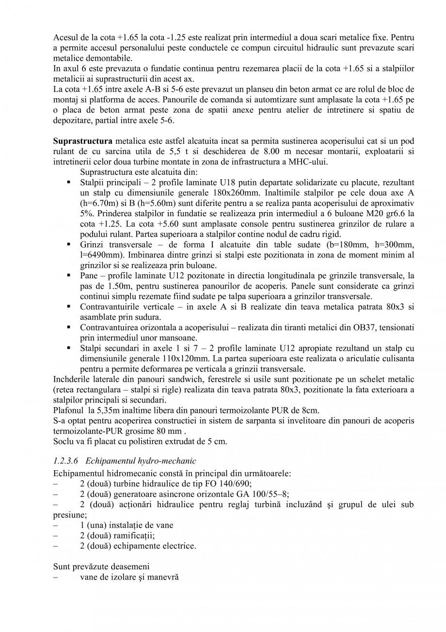 Pagina 23 - Proiect Hidrotehnic Complex - Prezentare ISPA Tarnita PIF 2009  Lucrari, proiecte Romana...