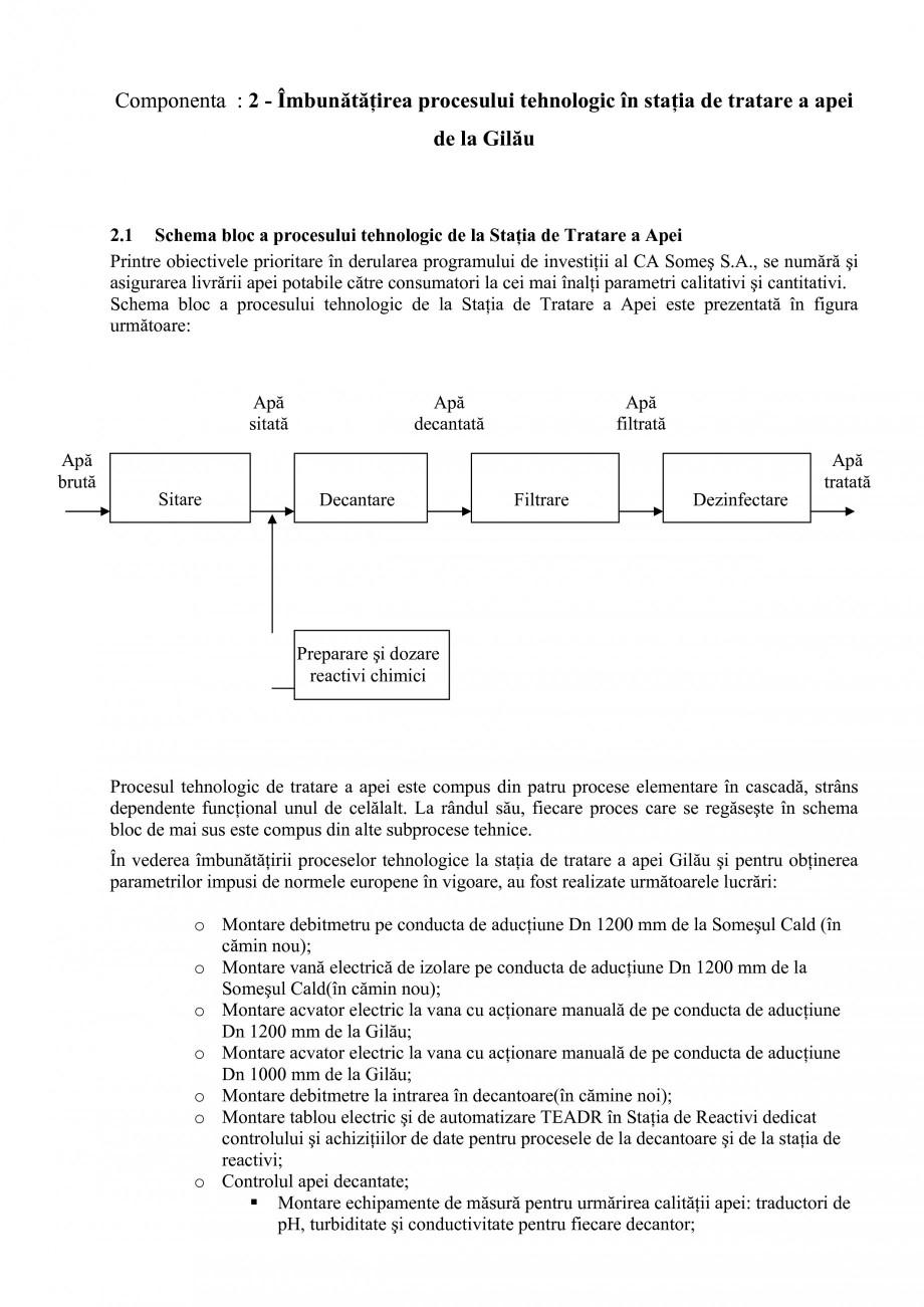 Pagina 28 - Proiect Hidrotehnic Complex - Prezentare ISPA Tarnita PIF 2009  Lucrari, proiecte Romana...