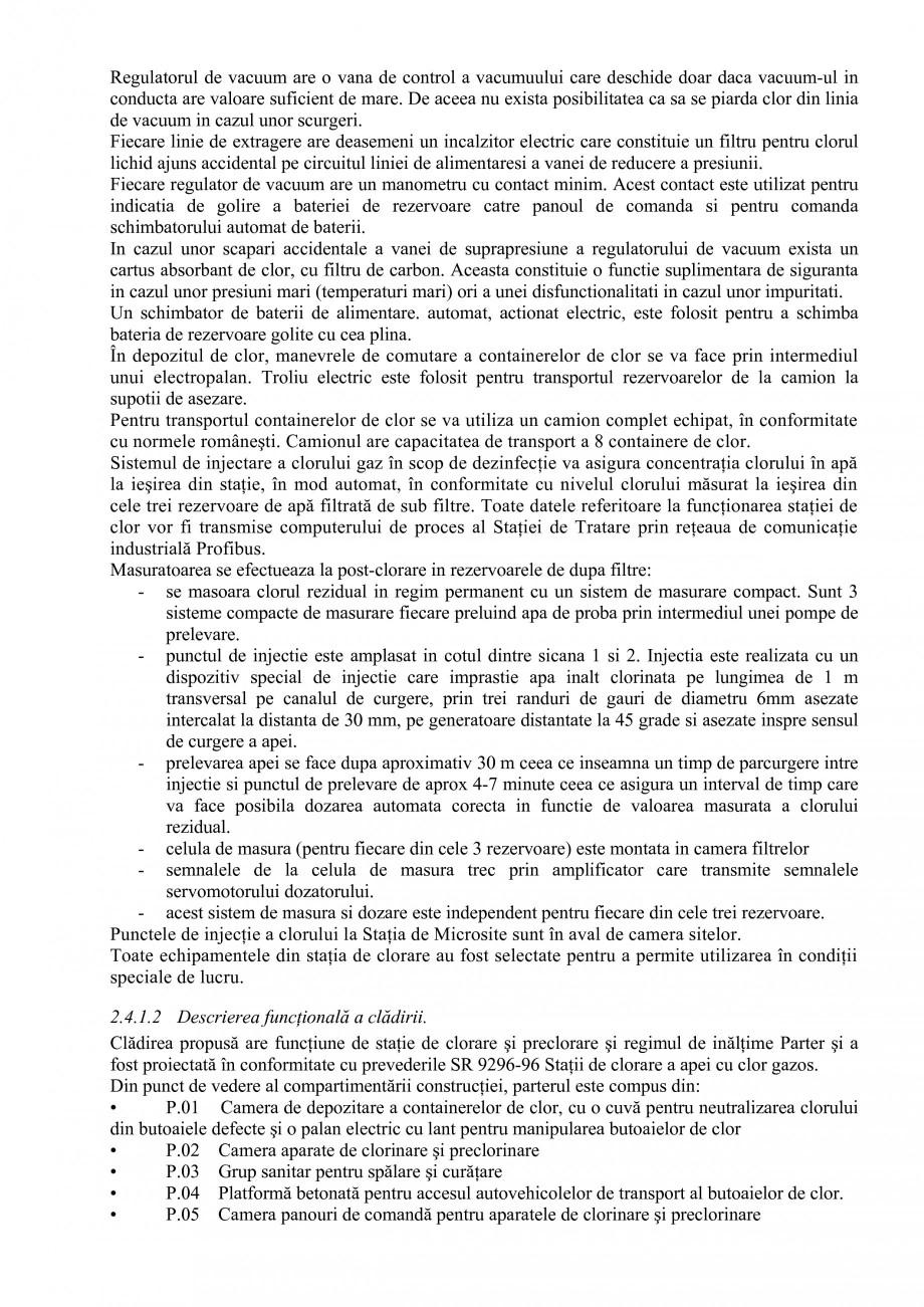 Pagina 32 - Proiect Hidrotehnic Complex - Prezentare ISPA Tarnita PIF 2009  Lucrari, proiecte Romana...