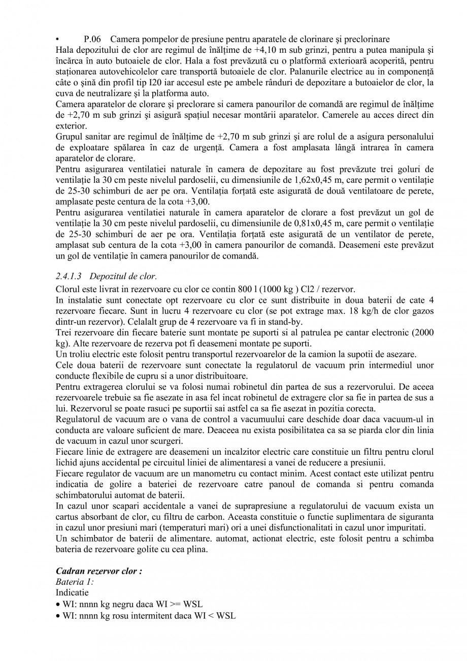 Pagina 33 - Proiect Hidrotehnic Complex - Prezentare ISPA Tarnita PIF 2009  Lucrari, proiecte Romana...