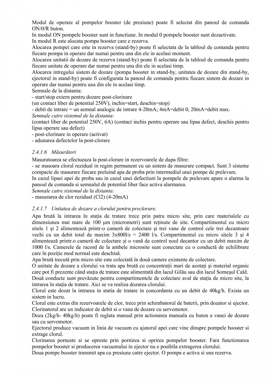 Pagina 35 - Proiect Hidrotehnic Complex - Prezentare ISPA Tarnita PIF 2009  Lucrari, proiecte Romana...