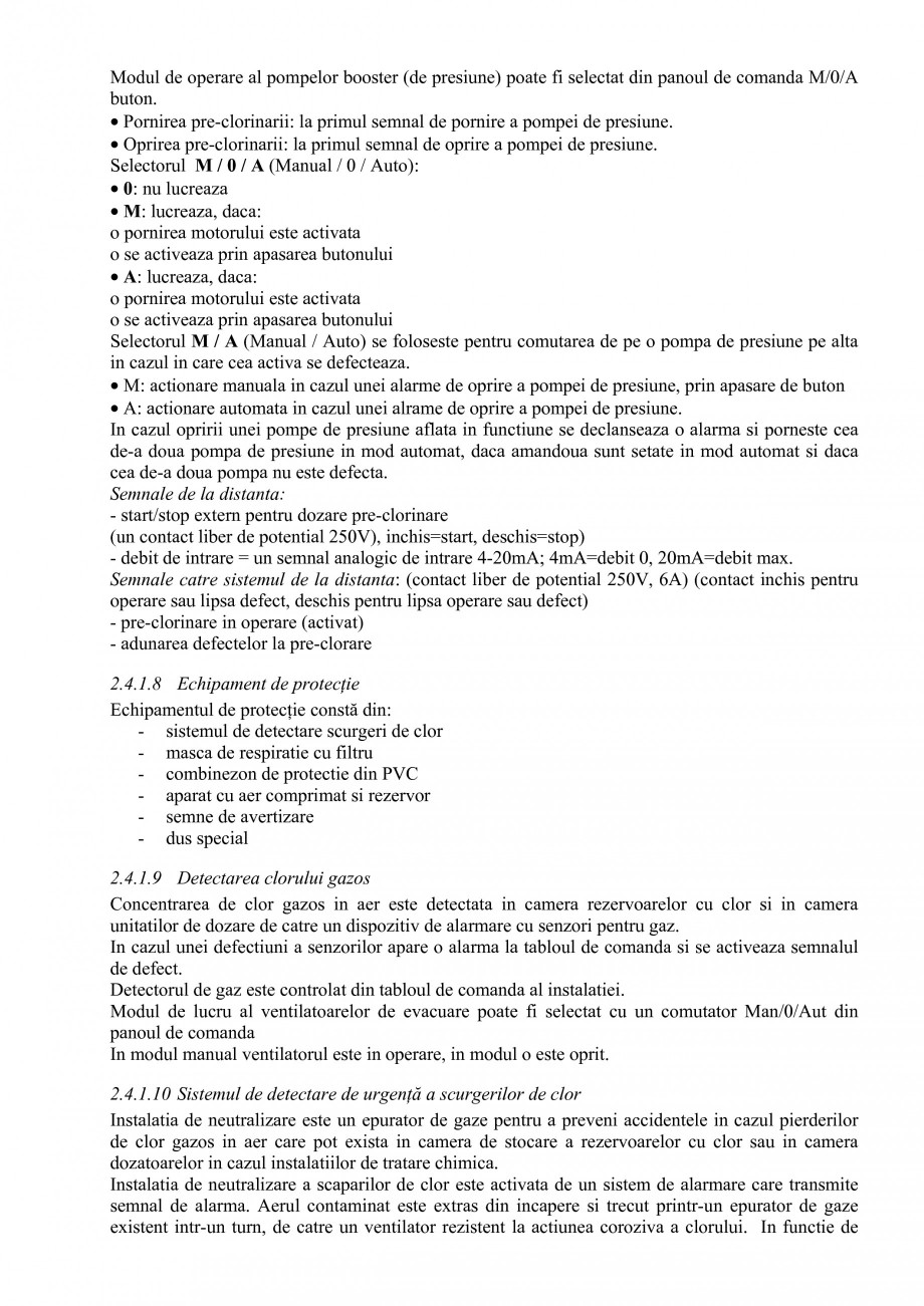 Pagina 36 - Proiect Hidrotehnic Complex - Prezentare ISPA Tarnita PIF 2009  Lucrari, proiecte Romana...