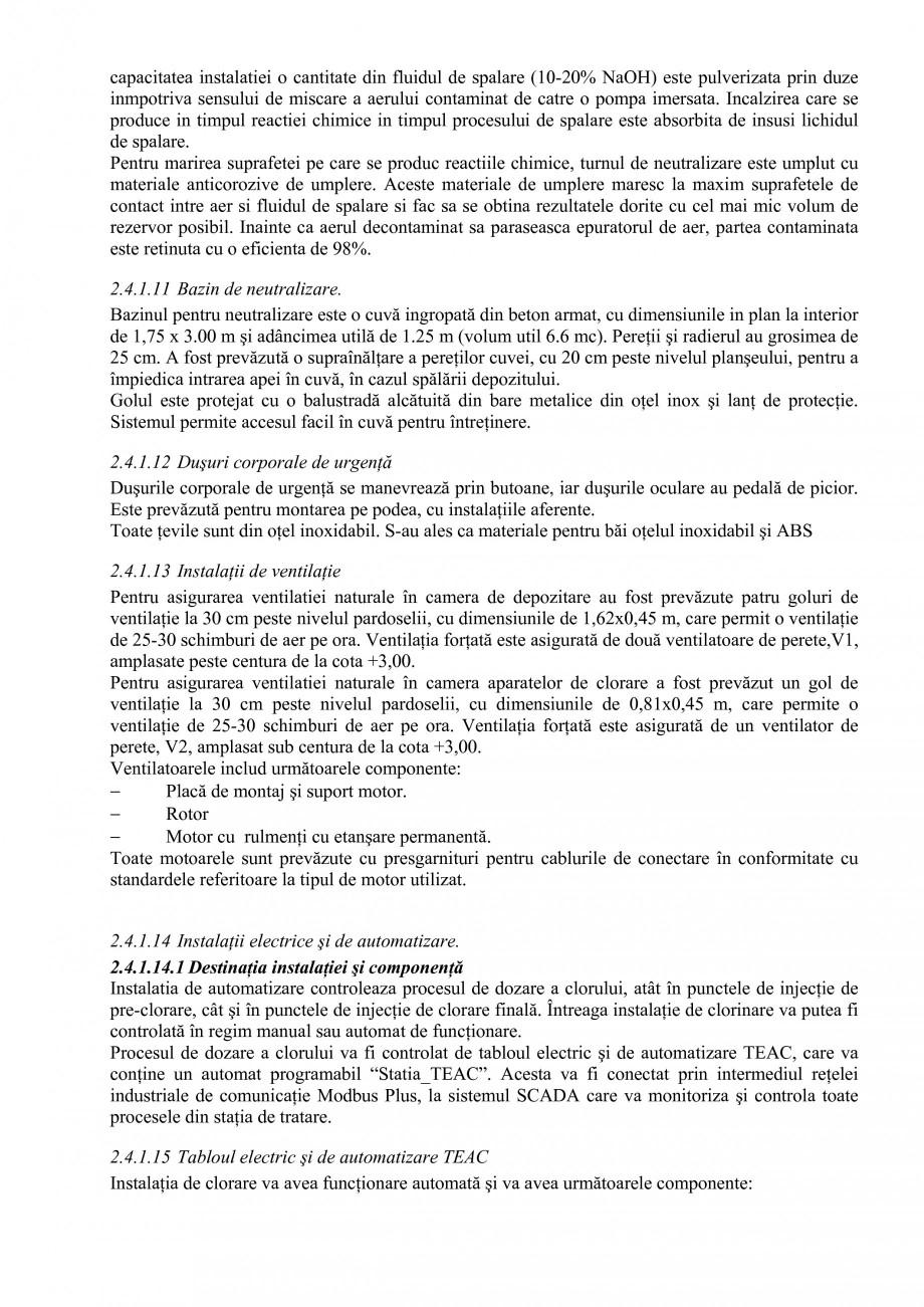 Pagina 37 - Proiect Hidrotehnic Complex - Prezentare ISPA Tarnita PIF 2009  Lucrari, proiecte Romana...