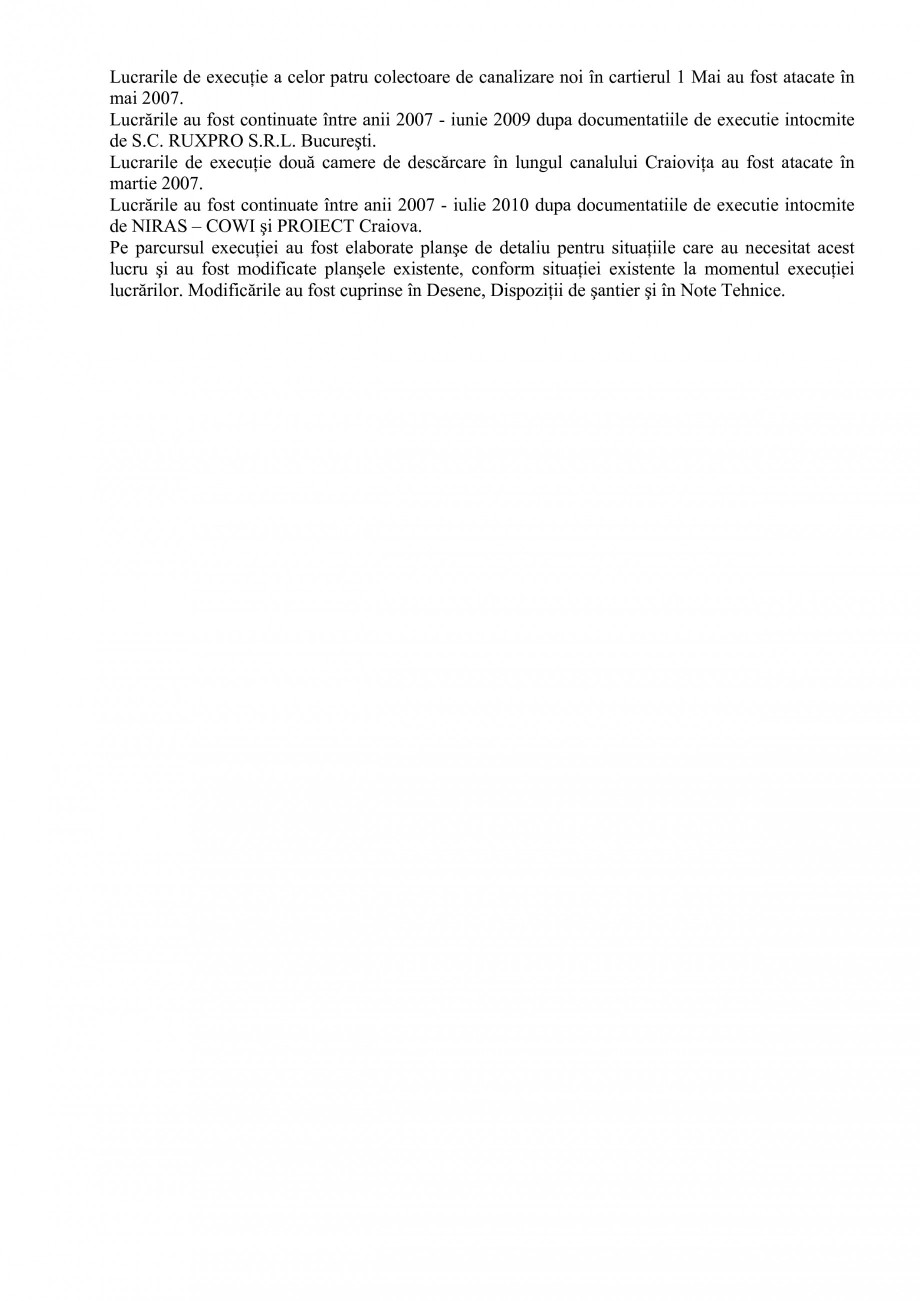 Pagina 9 - Alimentare cu apa si canalizare - Prezentare ISPA Craiova PIF 2009  Lucrari, proiecte...