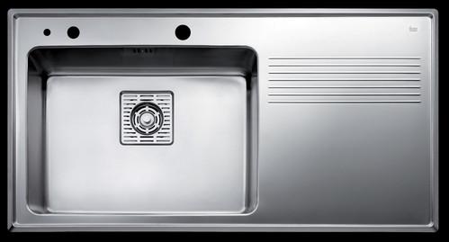 Prezentare produs Chiuveta FRAME 1B 1D Plus TEKA - Poza 35