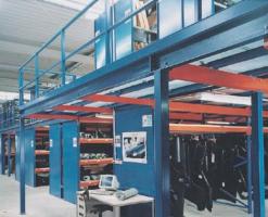 Rafturi cu nivele Cu competentaMETApentru constructiile din otel utilizati consecvent resursele spatiului dvs. Zone mari se pot suprapune, se pot obtine sisteme de rafturi cu polite cu mai multe etaje si se pot integra suprafete de circulatie.Prin suprapunerea suprafetei depozitului prezent, a atelierelor si a incaperilor cu utilaje, poate fi in mod ideal suprafata dublata.Cu ajutorul scarilor si sistemelor de lifturi, ajungeti repede, sigur si comod in fiecare loc al depozitului dvs. extins.